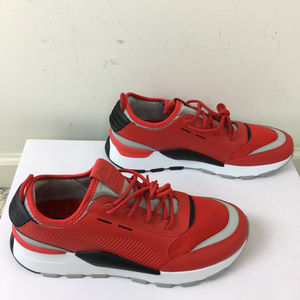 Puma Rs-0 Sound Mens Shoes Sz 9 Red Black Gray NEW